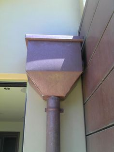 View our gutters & downpipes that make for maximum strength & a lasting solution. Offering customised designs in zinc, copper & stainless steel. Copper House, Copper Roof, French Drain, Dry Garden, Copper Material, Wall Cladding, Gold Coast, Pipes, Wall Lights