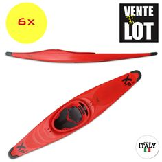 KAYAK POLO EXO XP3 (LOT DE 6 KAYAKS)