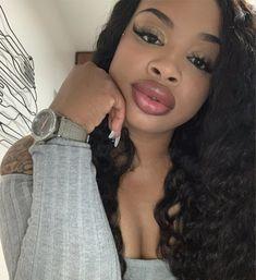 Nice Lips, Perfect Lips, Perfect Body, I Love Black Women, Pretty Black Girls, Full Lips, Beautiful Lips, Natural Lips, Human Hair Wigs