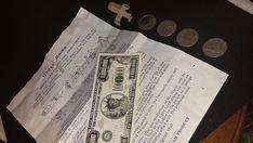 Frank Csuri ORIGINAL GHOST COINS Interlaced Finger Coin Production Magic Trick