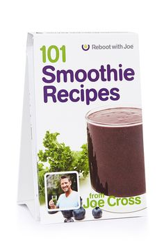 101 Smoothie Recipes $24.99 The book features 101 delicious recipes, along with some of Joe Cross' favorite ingredients that can't be juiced - such as nuts, nut milks, avocados, and even chocolate, in its purest form.