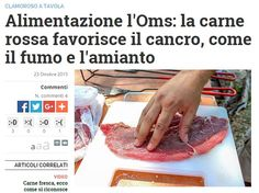 Che la carne rossa non faccia bene è sostenuto da tanti. Che l'OMS l'abbia inserita nei prodotti sicuramente cancerogeni per ora è solo un titolo di giornale.
