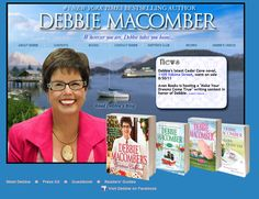 One of my favorite author.  Cedar cove and  books are favorites.  Going to be a series on TV...can hardly wait.Movie news! Hallmark Channel has announced that my Cedar Cove movie, starring Andie MacDowell as Judge Olivia and Dylan Neal as Newspaper Editor Jack Griffin, will debut on Saturday, June 1