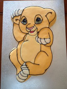 Lion King Baby Shower Cake. Oh my Dear Lord Jesus. I know what my shower theme would be.