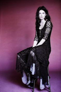 Free People black lacy dress