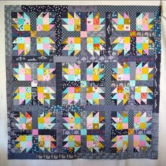 #squidinkandsorbetquilt top on the blog today!