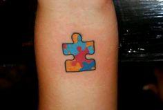 autism tattoos for women | Autism awareness tattoo