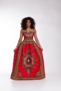 Here at Grass-fields we have an awesome range of African dress designs. Whether you're after an African print maxi or midi dress, we've got something for you. African Prom Dresses, African Dresses For Women, African Attire, African Wear, African Women, African Clothes, Sexy Dresses, Chitenge Outfits, Moda Afro
