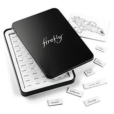 ThinkGeek :: Firefly Magnetic Poetry  SHINY :-)