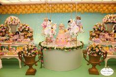 Minha mãe festeira: Festa Carrosel Encantado - Idéias encantadas
