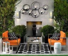 Meubles et décoration pour plus de confort à la terrasse de jardin