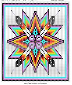 Native American Beadwork Designs Medicine Bags Free Beading Patterns For Native Americans And Pictures Native Beading Patterns, Beadwork Designs, Seed Bead Patterns, Peyote Patterns, Weaving Patterns, Cross Stitch Patterns, Jewelry Patterns, Bracelet Patterns, Indian Beadwork