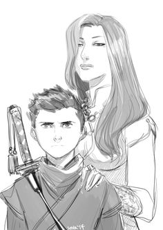 Talia and Damian