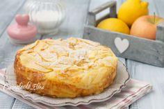 Il gateau di mele è un dolce con le mele davvero strepitoso, ricco di tantissime mele, così tante che sembrano invisibili, con pochissima farina, zucchero e lievito!