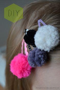 pom pom My Girl, Crochet Necklace, Drop Earrings, Mini, Girls, Jewelry, Toddler Girls, Jewlery, Daughters