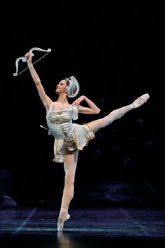 "Polina Semionova in ""Sylvia"" - Staatsoper Ballet. Photo by Enrico Nawrath"