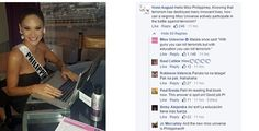Miss Universe PH Pia Wurtzbach smartly handles questions from FB users #RagnarokConnection