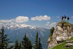 hiking in Schladming Dachstein - Wandern in Schladming Dachstein - by Herbert Raffalt Mount Rainier, Mountains, Nature, Summer, Travel, Vacation Places, Horseback Riding, Naturaleza, Summer Time