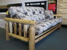 Log Futon Bed Roselawnlutheran