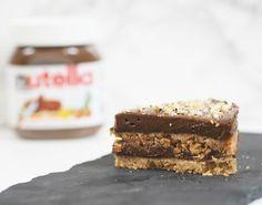 No Bake Layered Nutella Cheesecake Recipe