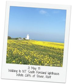 feature - South Foreland lighthouse by the White Cliffs of Dover, Kent, England Days Out In England, Dover Kent, White Cliffs Of Dover, Kent England, Day Trip, Lighthouse, Touring, Beautiful Places, Castle