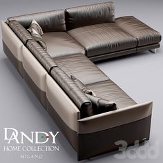 3d модели: Диваны - Диван Dandy Home mood