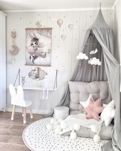 Inspiration pastel girls room ideas, pink and grey girls room design, girls kidsroom, kidsroom decor. Pastel Girls Room, Grey Girls Rooms, Little Girl Rooms, Girl Kids Room, Pink Room, Kids Bedroom Girls, Girl Toddler Bedroom, Girls Bedroom Canopy, Childrens Bedrooms Girls
