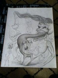 Complete serpent piece