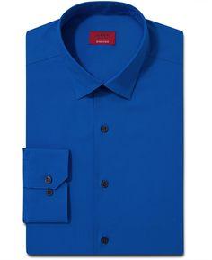 Alfani Spectrum Slim-Fit Solid Dress Shirt on shopstyle.com