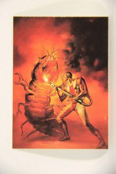 L010265 Boris Vallejo 1991 Card / Exterminator - 1982 - Card #68 / ARTWORK