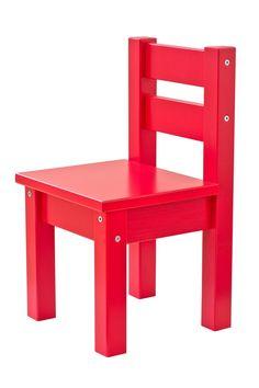 Classic Red Children chair by Hoppekids