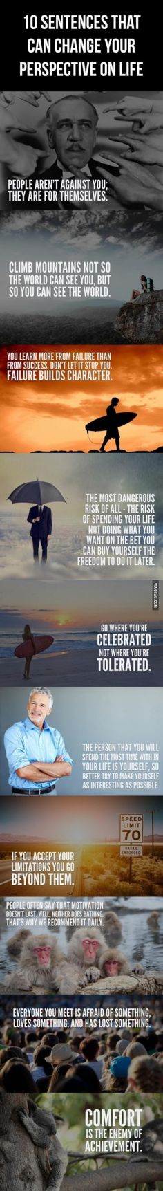 10 Powerful Sentences to Help Change Your Perspective on Life.