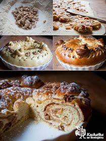 Kuchařka ze Svatojánu: VÁNOČNÍ VĚNEC Cake Recipes, Muffin, Pie, Baking, Breakfast, Sweet, Christmas, Food, Cakes