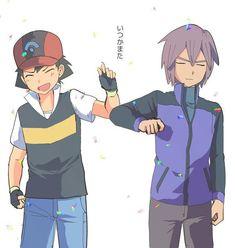リアタイはできないけど過去絵で いつかまたバトルしてください #anpkDP同時再生会pic.twitter.com/ASHDXv27b7 Pokemon Game Characters, Ash Pokemon, Pokemon Ships, Pokemon Funny, Pokemon Fan Art, Green Pokemon, Ash And Misty, Anime Vs Cartoon, Ash Ketchum