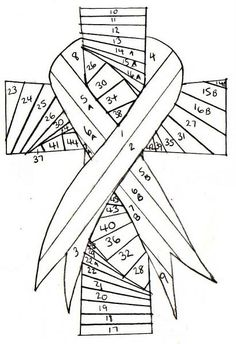 Iris Folding Cross