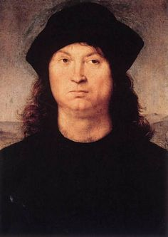 Retrato de un Hombre  Fecha: 1502  Movimiento: Renacimiento  Técnica: Óleo sobre tabla  Museo: Galería Borghese  Lugar: Roma, Italia