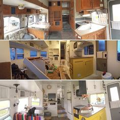 Ah- the before, during, and after photo of keystone. It is so fun to look back at our rig the way it was and how we made it our home. I will probably post some more of these because we want others to realize how attainable this is! We knew nothing and figured things out as we went- and did it all ourselves. You can too! -m