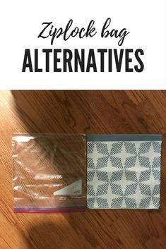 #minimalism #zerowaste alternatives to ziplock plastic baggies. #goinggreen