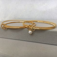 From birthday bangles to scalloped spoons, if you have an idea for a piece of jewellery, get in touch and Leila can help you create something special. Bangles, Bracelets, Fresh Water, Plating, Jewellery, Pearls, Bag, Gold, Jewels