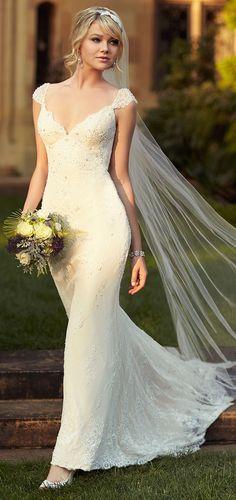 Stunning Angelic Wedding Dress //
