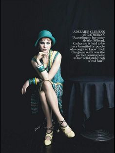 Le Guerrier Neuf: 'The Great Gatsby' Cast for Vogue Australia...