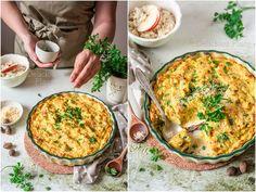 Delicious Place: Zapiekanka ziemniaczana z musztardą i curry / Pota. Bon Appetit, Quiche, Curry, Food And Drink, Breakfast, Fotografia, Morning Coffee, Curries, Quiches