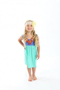 little girls clothing boutique maxi dress Ryleigh Rue Clothing