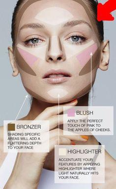 Un sencillo modo de dar contorno a tu rostro.