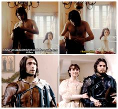 The Musketeers - Constance & Athos (+ D'Artagnan), 1x01/2x10