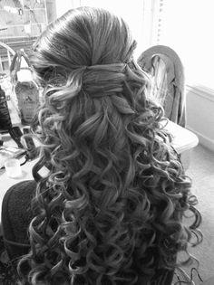 homecoming hair(: