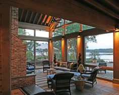 covered porch/deck