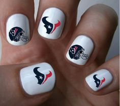 Hey, I found this really awesome Etsy listing at https://www.etsy.com/listing/190522294/houston-texans-nfl-nail-art-decals-nail