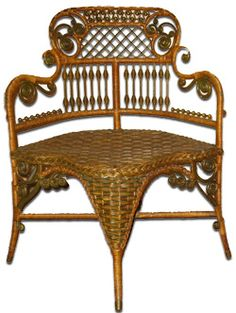 19th century Wicker Cast Iron and Mechanical furniture - Google Search