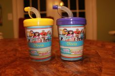 personalized cups for the kids